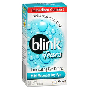 Blink Lubricating Eye Drops For Mild Moderate Dry Eye 0.5 oz by Blink