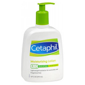 Cetaphil Moisturizing Lotion For All Skin Types Fragrance free 16 oz by Cetaphil (2587478458453)