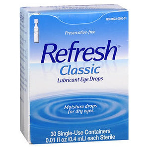Refresh Classic Lubricant Eye Drops Single-Use Containers 30 ct by Refresh (2587480948821)