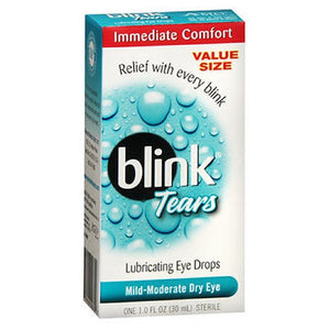 Blink Lubricating Eye Drops For Mild Moderate Dry Eye 1 oz by Blink (2587988328533)