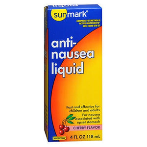 Sunmark Anti-Nausea Liquid Cherry 4 oz by Sunmark