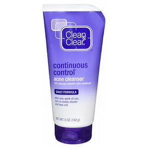 Clean & Clear Continuous Control Acne Cleanser Daily Formula 5 oz by Clean & Clear (2587988983893)
