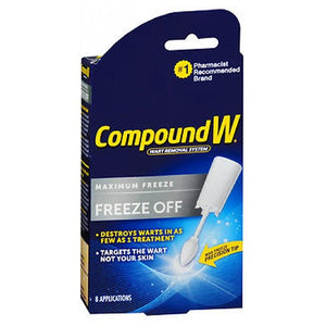 Compound W Freeze Off Wart Removal System 8 each by Med Tech Products (2587485110357)