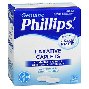 Bayer Phillips Cramp-Free Laxative Caplets 24 caplets by Bayer