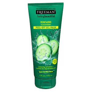 Freeman Facial Peel-Off Mask With Cucumber 6 oz by Freeman (2587486552149)