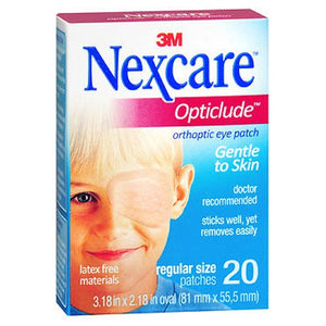 Nexcare Opticlude Orthoptic Eye Patch Regular 20 Units by Nexcare