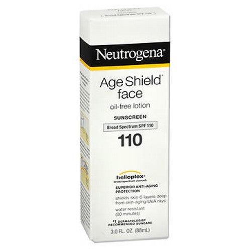 Neutrogena Age Shield Face Sunblock Lotion Spf 110 3 oz by Neutrogena