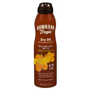 Hawaiian Tropic Dry Oil Continuous Spray 6 oz by Hawaiian Tropic (2587989737557)