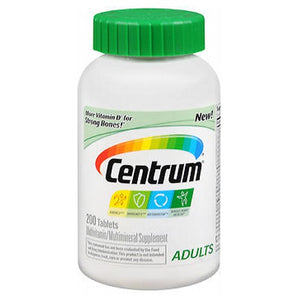 Centrum Multivitamin And Multimineral Supplement Tablets 200 tabs by Advil