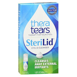 Thera Tears Sterilid Eyelid Foam Scrub 1.62 oz by Thera Tears