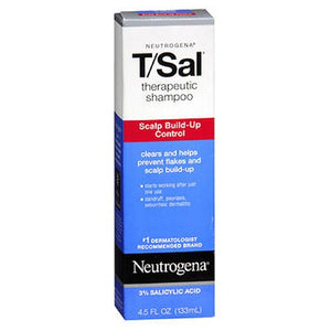 Neutrogena T/Sal Therapeutic Shampoo scalp build up control 4.5 oz by Neutrogena (2587492745301)