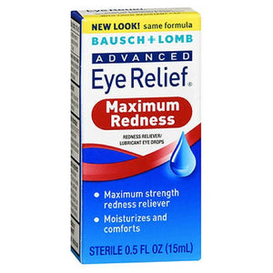 Bausch And Lomb Advanced Eye Relief Redness Reliever Lubricant Drops 0.5 oz by Bausch And Lomb (2587493138517)