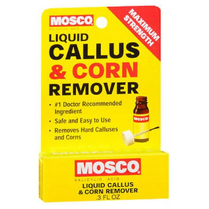 Mosco Callus And Corn Remover Liquid 0.3 oz by Mosco