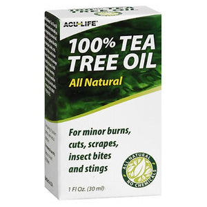 Acu-Life 100% Tea Tree Oil 1 Oz by Acu-Life (2587493400661)