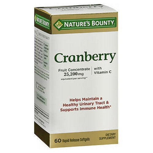 Nature's Bounty Triple Strength Natural Cranberry 60 caps by Nature's Bounty