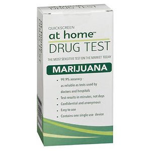 At Home Drug Test Marijuana 1 each by At Home (2587494154325)