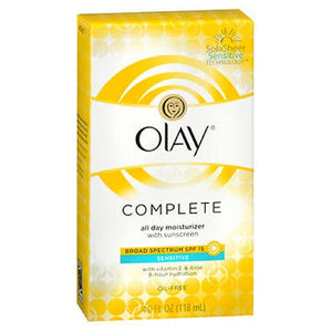 Olay Complete All Day Uv Defense Moisture Lotion Sensitive Skin 4 Oz by Olay (2587495104597)