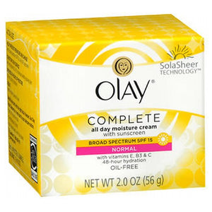 Olay Complete All Day Uv Defense Moisture Cream 2 Oz by Olay (2587495268437)
