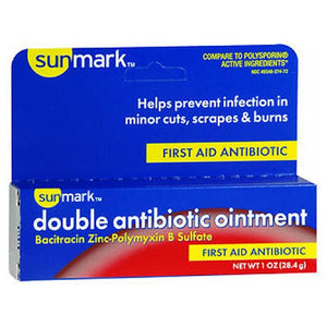 Sunmark Double Antibiotic Ointment 1 oz by Sunmark (2587496546389)