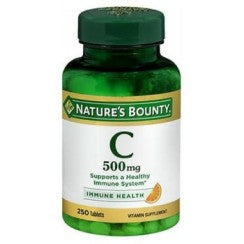 Nature's Bounty Pure Vitamin C 250 tabs by Nature's Bounty (2587497037909)