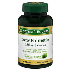 Nature's Bounty Saw Palmetto 100 caps by Nature's Bounty (2587497168981)