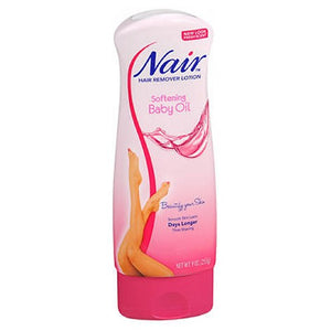 Nair Hair Remover Lotion With Baby Oil 9 oz by Nair (2587497791573)
