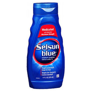 Selsun Blue Medicated Dandruff Shampoo 11 oz by Act (2587501527125)