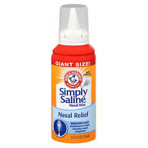 Simply Saline Giant Size Nasal Wash 4.25 oz by Simply Saline