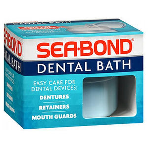 Sea-Bond Denture Bath each by Sea-Bond