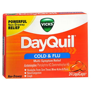 Vicks Dayquil Liquicaps 24 each by Vicks (2587502674005)