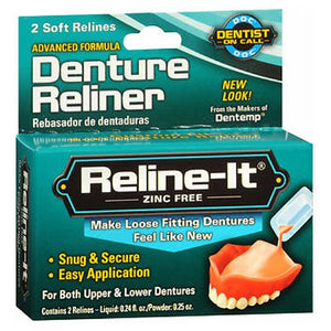 D.O.C. Reline-It Denture Reliners 2 each by D.O.C. (2587503296597)