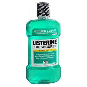 Listerine Antiseptic Mouthwash Fresh Burst 33.8 oz by Listerine (2587504509013)