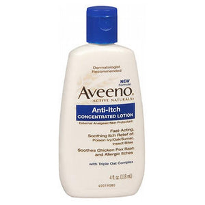 Aveeno Anti-Itch Concentrated Lotion 4 oz by Aveeno (2587504705621)