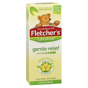 Fletchers Laxative For Kids To Relieve Constipation 3.25 oz by Mentholatum