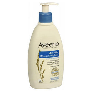Aveeno Active Naturals Skin Relief Moisturizing Lotion Fragrance Free 12 oz by Aveeno (2587997831253)