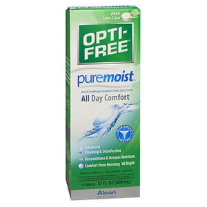 Opti-Free Pure Moist Multi-Purpose Solution 10 Oz by Opti-Free