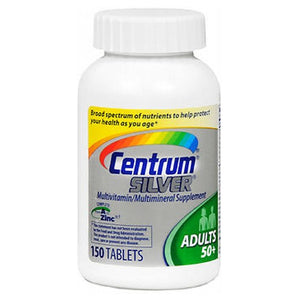 Centrum Silver Multivitamin And Multimineral Tablets For 50+ Adults 150 tabs by Centrum (2587506966613)
