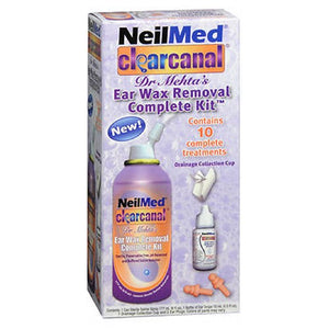 Neilmed Neil Med Clear Canal Ear Wax Removal Complete Kit 6 OZ by Neilmed