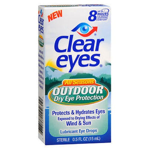 Clear Eyes Outdoor Dry Eye Protection 1 oz by Clear Eyes