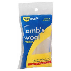 Sunmark 100% Lambs Wool Padding 0.375 oz by Sunmark