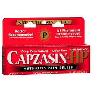 Capzasin Capzasin-HP Arthritis Pain Relief Creme 1.5 oz by Capzasin (2587512242261)