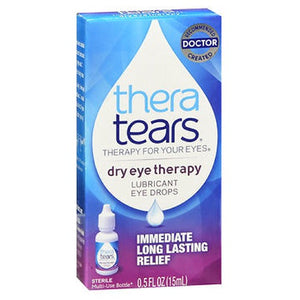 Thera Tears Lubricant Eye Drops 0.5 oz by Thera Tears (2587513061461)