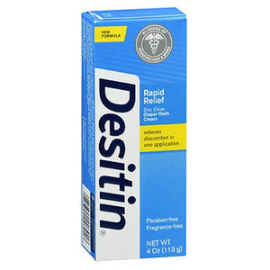 Desitin Rapid Relief Diaper Rash Cream 4 oz by Johnson & Johnson (2587514896469)
