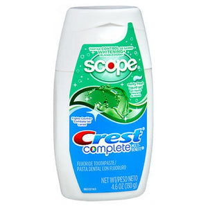 Crest Plus Scope Tartar Control Whitening Fluoride Anticavity Liquid Gel Minty Fresh 4.6 oz by Crest (2588001927253)