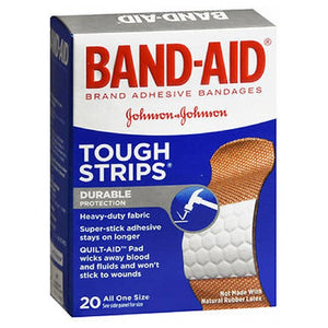 Band-Aid Tough-Strips Bandages All One Size 20 ct by Band-Aid (2587516272725)