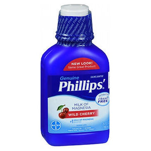 Bayer Phillips Milk Of Magnesia Liquid Cherry 26 oz by Bayer (2587518238805)