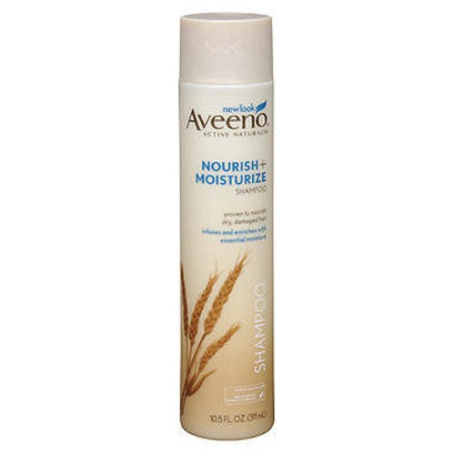 Aveeno Active Naturals Nourish Plus Moisturize Shampoo For Dry Hair 10.5 oz by Aveeno
