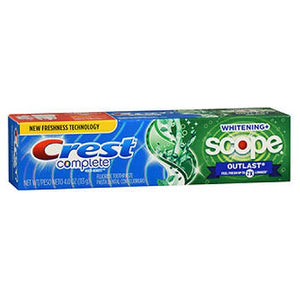 Crest Extra White Plus Scope Outlast Toothpaste Long Lasting Mint 4 oz by Crest (2588003696725)