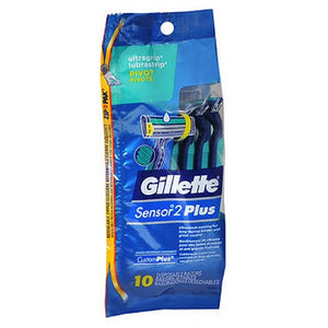 Gillette Customplus Pivot Disposable Razors 10 each by Gillette