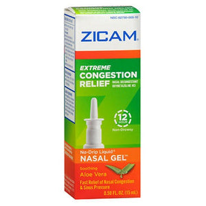 Zicam Extreme Congestion Relief No-Drip Liquid Nasal Gel 0.5 oz by Zicam